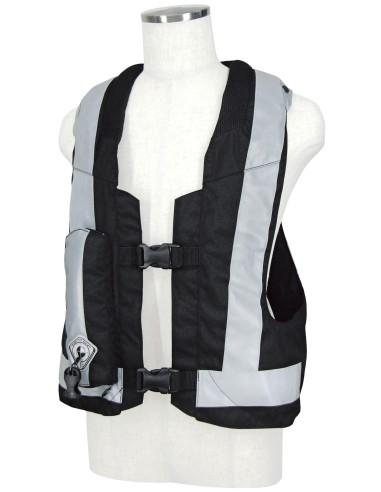 Light Airbag Vest Reflex MLV-P - BLACK